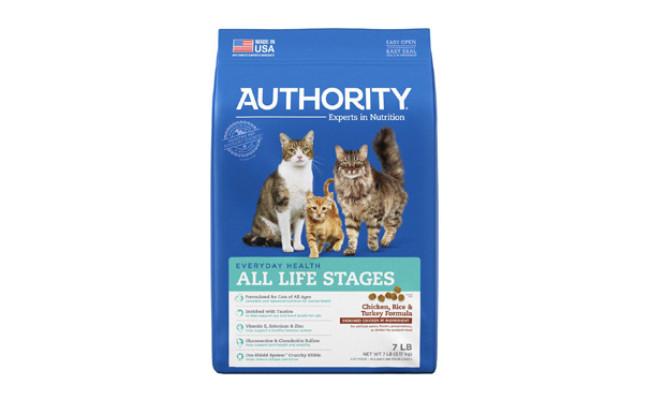Chicken, Rice & Turkey Formula Dry Cat Food