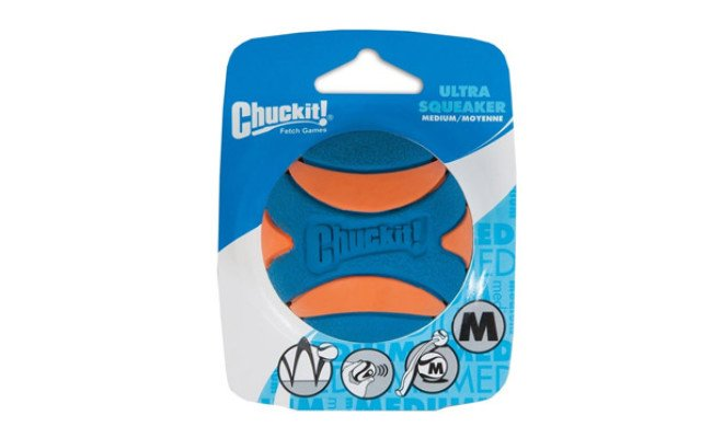 Chuckit Ultra Squeaker Dog Ball