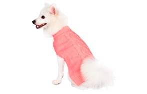 Classic Cable Knit Dog Sweater by Blueberry Pet