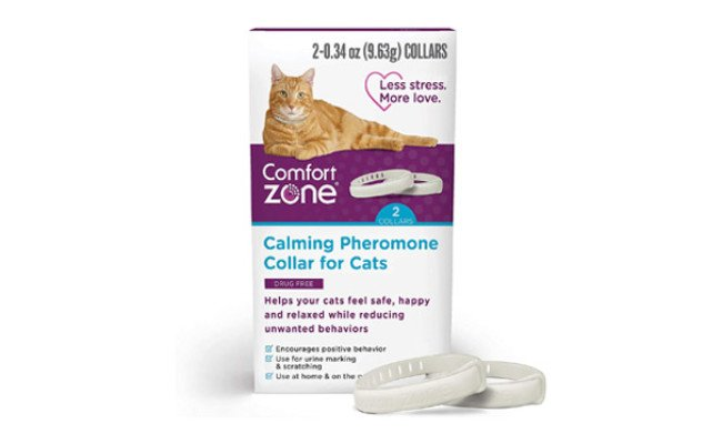 Comfort Zone Cat Calming Pheromone Collar