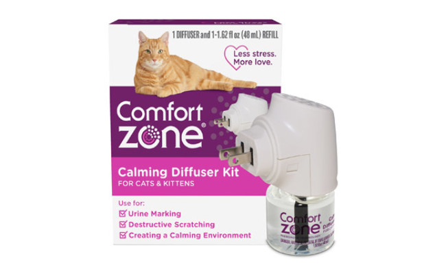 Comfort Zone Diffuser Kit for Cat Calming