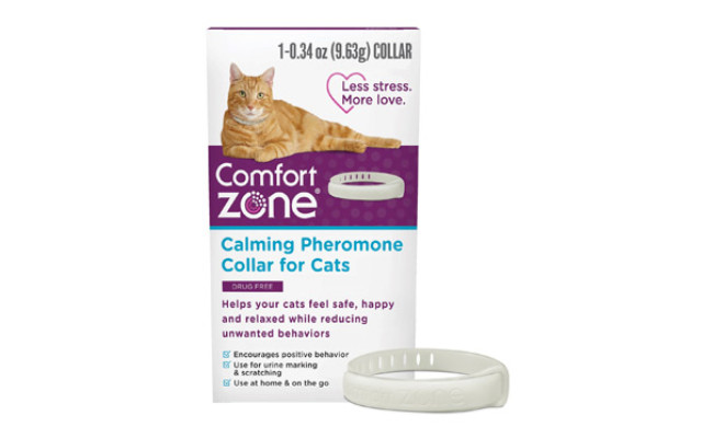 Comfort Zone On-The-Go Calming Cat Collar