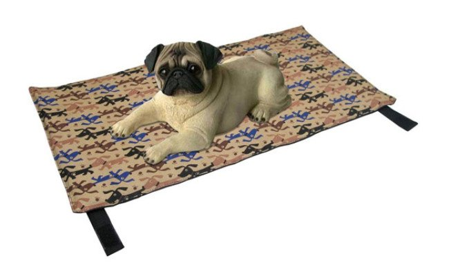 CoolDog Reusable Ice Mat for Keeping Dogs Cool