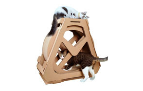 Creation Core Multi-Level Cat Scratcher Board Wheel