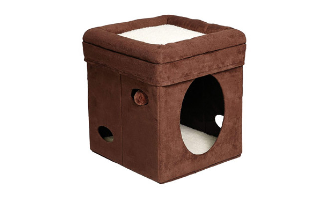 Curious Cat Cube Cat House by MidWest