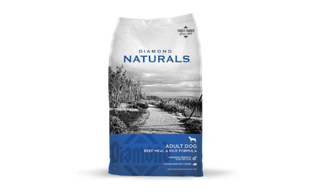 Diamond Naturals Beef and Rice Formula Dry Food