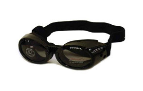 Doggles ILS Black Dog Sunglasses