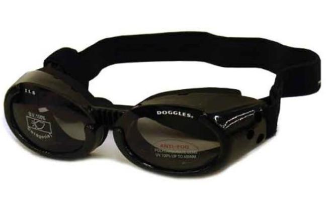 Doggles ILS Black Dog Sunglasses