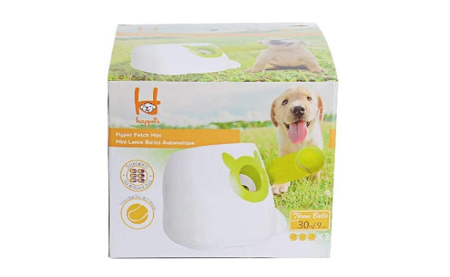 Dporticus Automatic Interactive Dog Tennis Ball Launcher