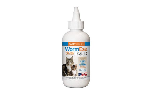 Durvet Wormeze Feline Liquid Wormer for Cats