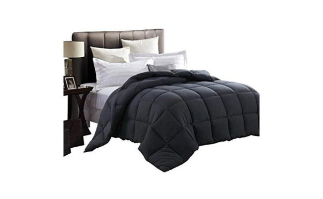 EDILLY Luxury Down Alternative Quilted King Comforter