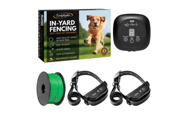 Earlyhights Underground Electric Dog Containment Fence System