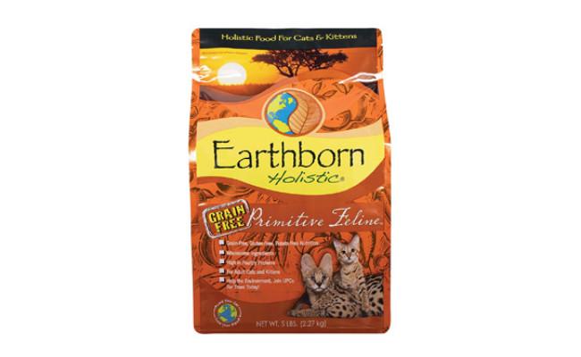 Earthborn Holistic Primitive Feline Hedgehog Food