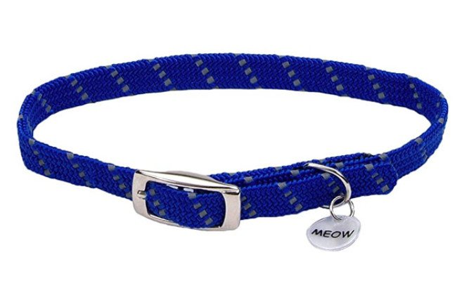 ElastaCat Reflective Safety Stretch Collar