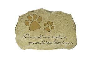 Evergreen Garden Pet Paw Print