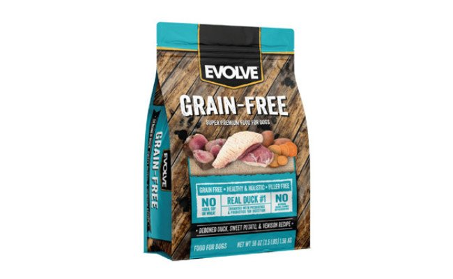 Evolve Deboned Duck Dry Dog Food