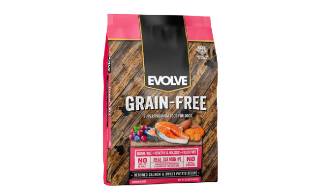 Evolve Deboned Grain-Free Salmon & Sweet Potato Recipe Dry Dog Food