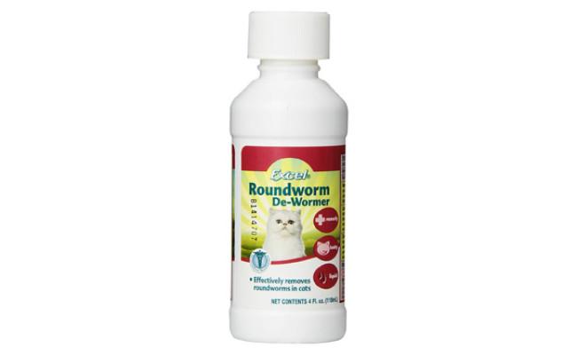 Excel Roundworm Liquid Cat Dewormer