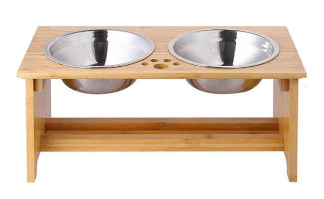 FOREYY Raised Dog Bowls