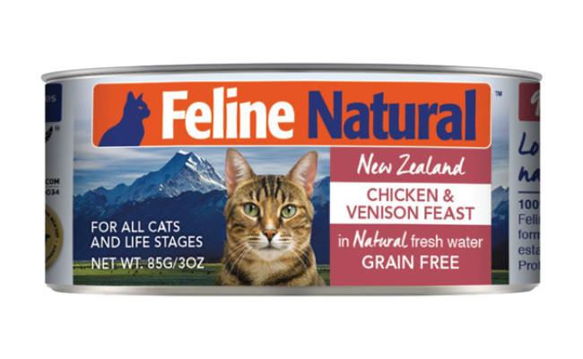 Feline Natural Chicken & Venison Feast Grain-Free