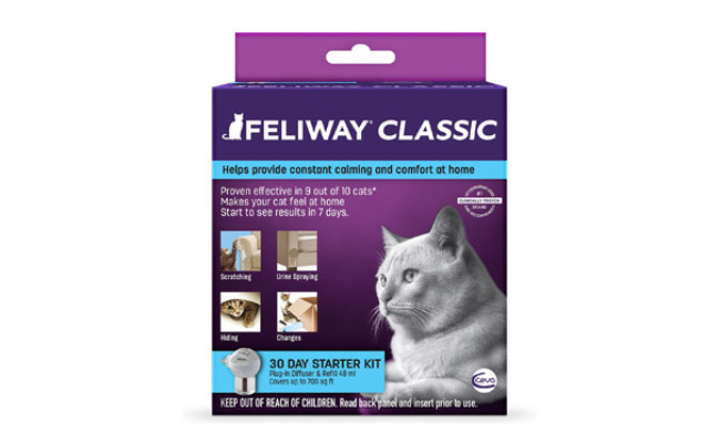 Feliway 30 Day Starter Kit Plug-In Diffuser & Refill