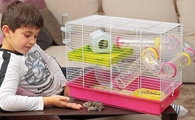 Ferplast White Hamster Cage