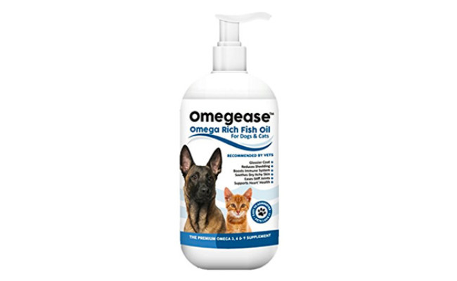 Finest For Pets Omegease Fish Oil for Dogs