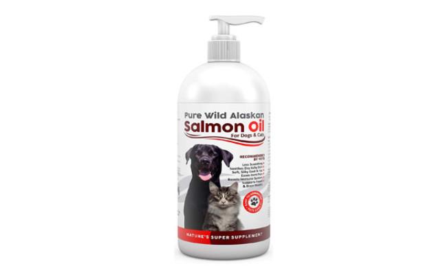 Finest For Pets Pure Wild Alaskan Salmon Oil