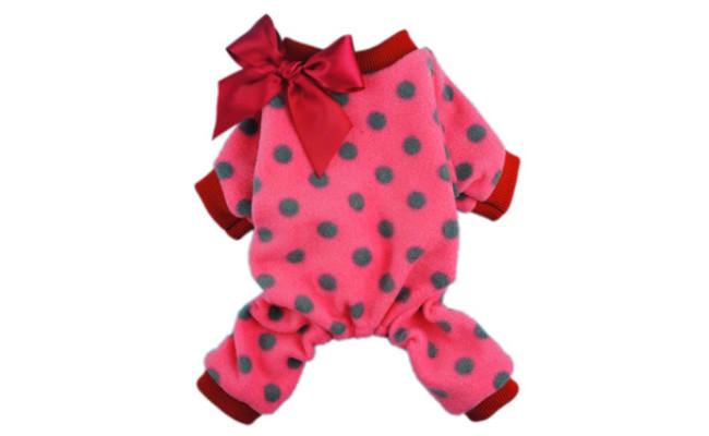 Fitwarm Cute Ribbon Dog Coats Pajamas