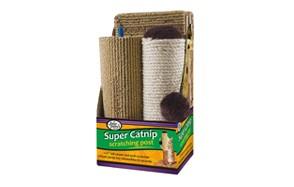 Four Paws Super Catnip Carpet Scratching Towers