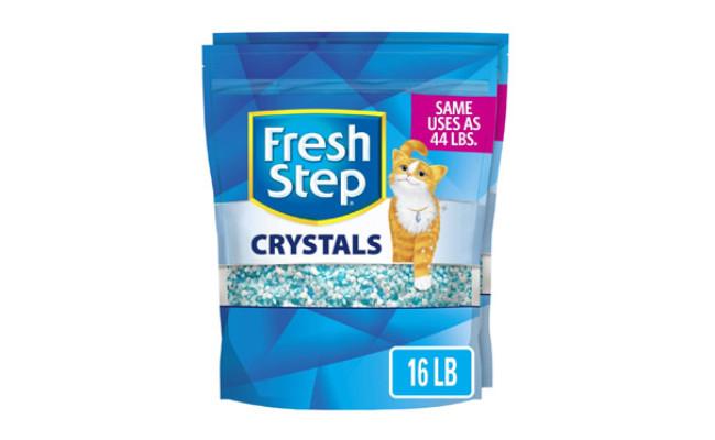 Fresh Step Crystals Premium Cat Litter