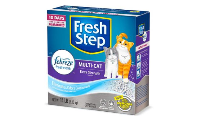 Fresh Step Multi-Cat Clumping Cat Litter