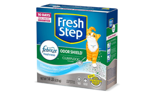 Fresh Step Odor Shield Scented Cat Litter
