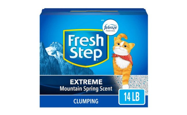 Fresh Step Scented Clumping Cat Litter