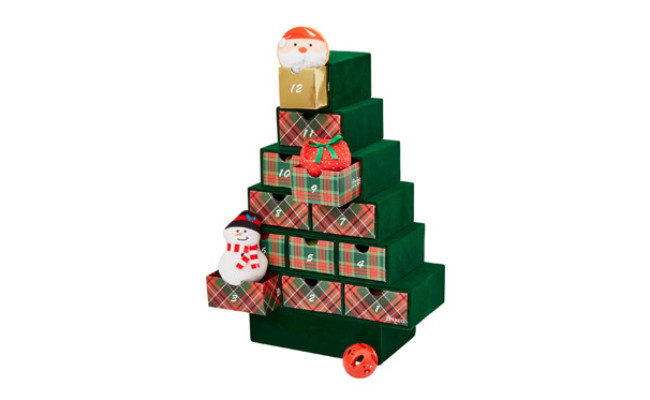 Frisco Holiday Christmas Advent Calendar with Toys for Cats