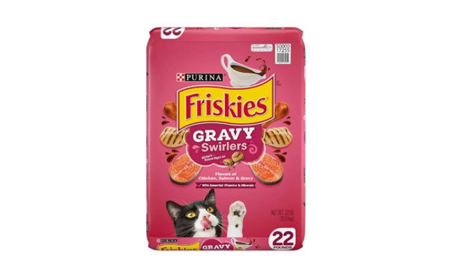 Friskies Gravy Swirlers Dry Cat Food