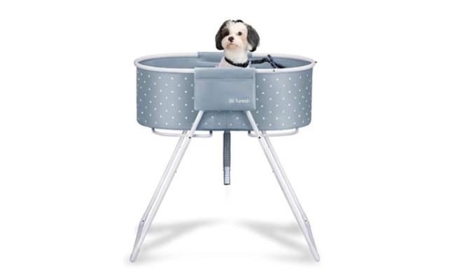 Furesh Elevated Folding Dog Bath