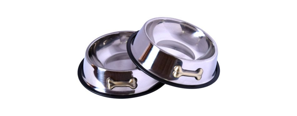 Gpet Stainless Steel Dog Bowls