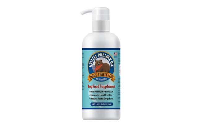 Grizzly Pollock Oil Omega-3 Fatty Acids for Dogs