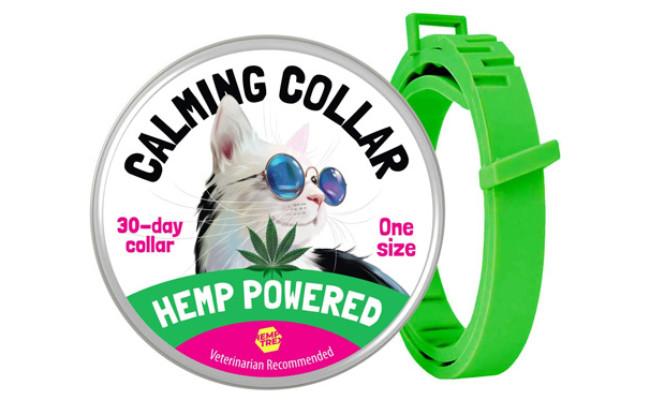 HEMPTREX Calming Collar for Cats