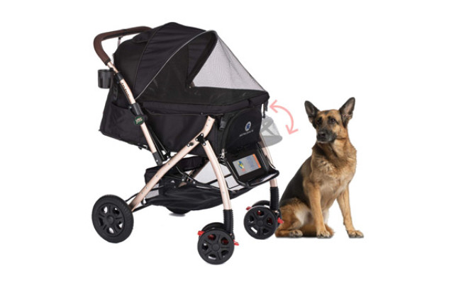 HPZ Pet Rover XL Extra-Long Premium Dog Stroller