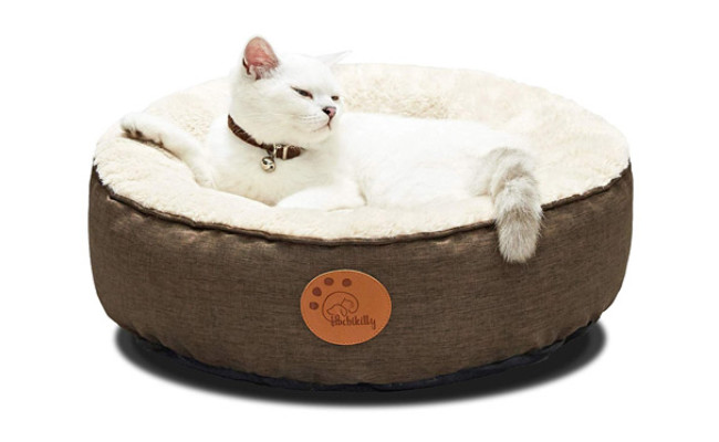 Hachikitty Fluffy Cat Bed