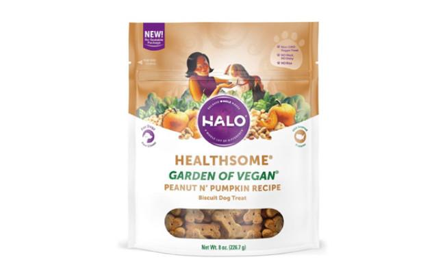 Halo Vegan Garden of Vegan Recipe Dog Treats