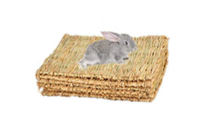 Hamiledyi Woven Bed Mat for Small Animal