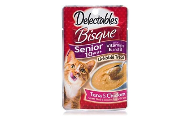 Hartz Delectables Stew Lickable Wet Cat Treats