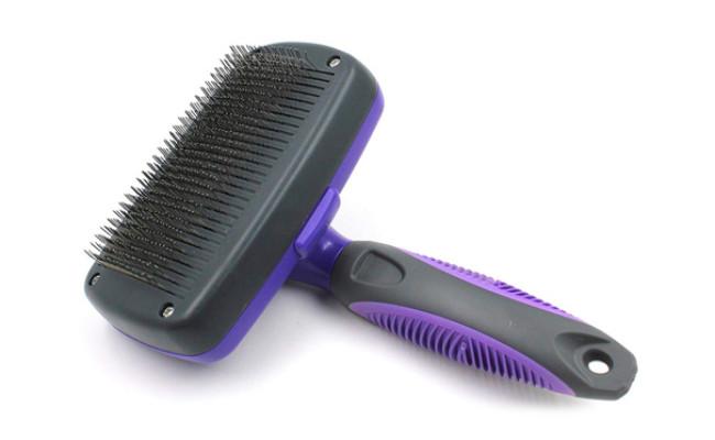 Hertzko Self Cleaning Slicker Brush For Cat