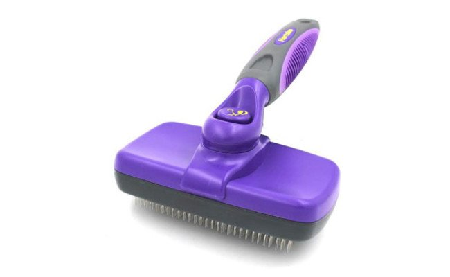 Hertzko Self Cleaning Slicker Cat Brush