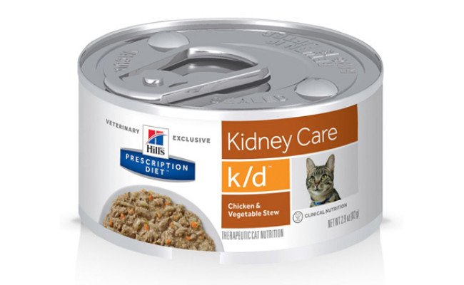 Hill's Prescription Diet k/d Kidney Care Canned Cat Food