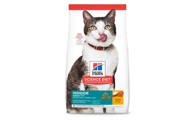 Hill's Science Diet Dry Cat Food for Older Cats