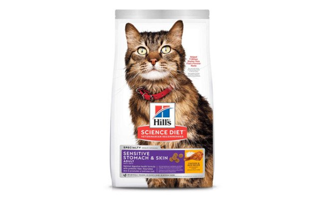 Hill's Science Diet Dry Cat Food for Sensitive Stomach
